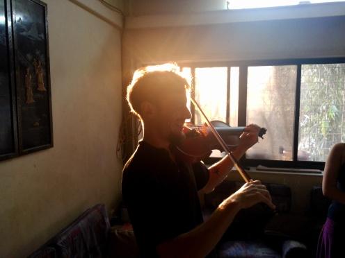 Martin + violin